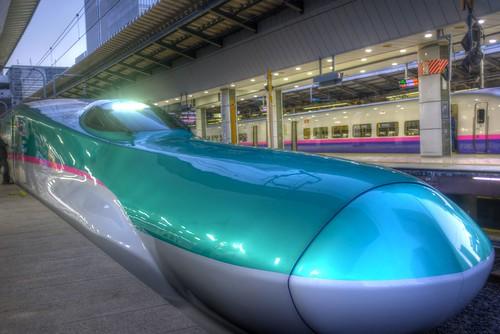 at Tokyo Station EXP HAYABUSA 19-11-2017 (1)