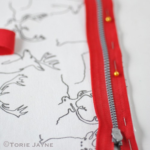 Duffel Bag Sewing Tutorial 11
