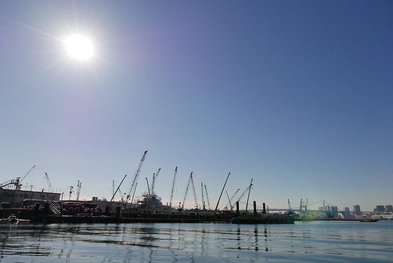 東京湾・隅田川クルージング 2017年11月25日