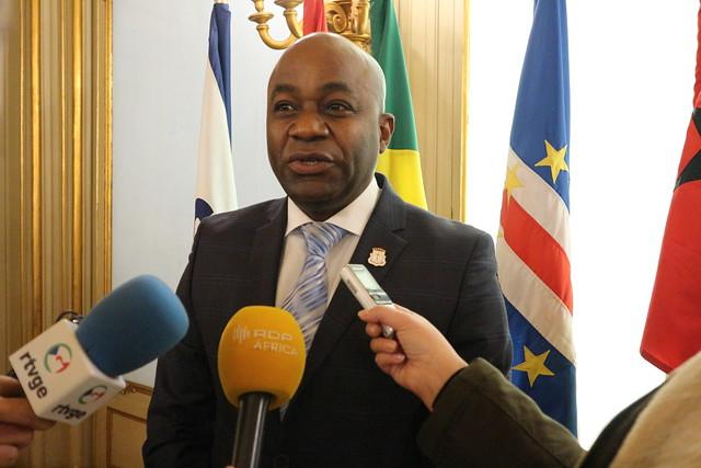 Presidente da Câmara de Deputados da Guiné Equatorial visita sede da CPLP