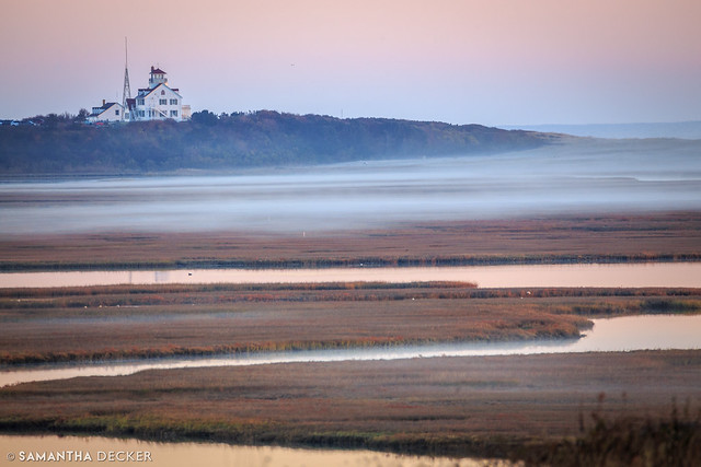 Coast Guard Station in the Fog