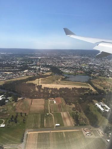 QF 485 Melbourne to Perth