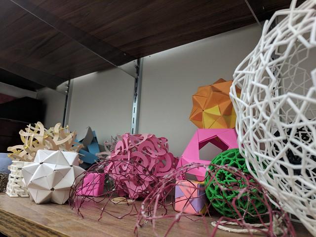 Spheroids, Craig Kaplan's office 4, University of Waterloo, Waterloo, Ontario, Canada
