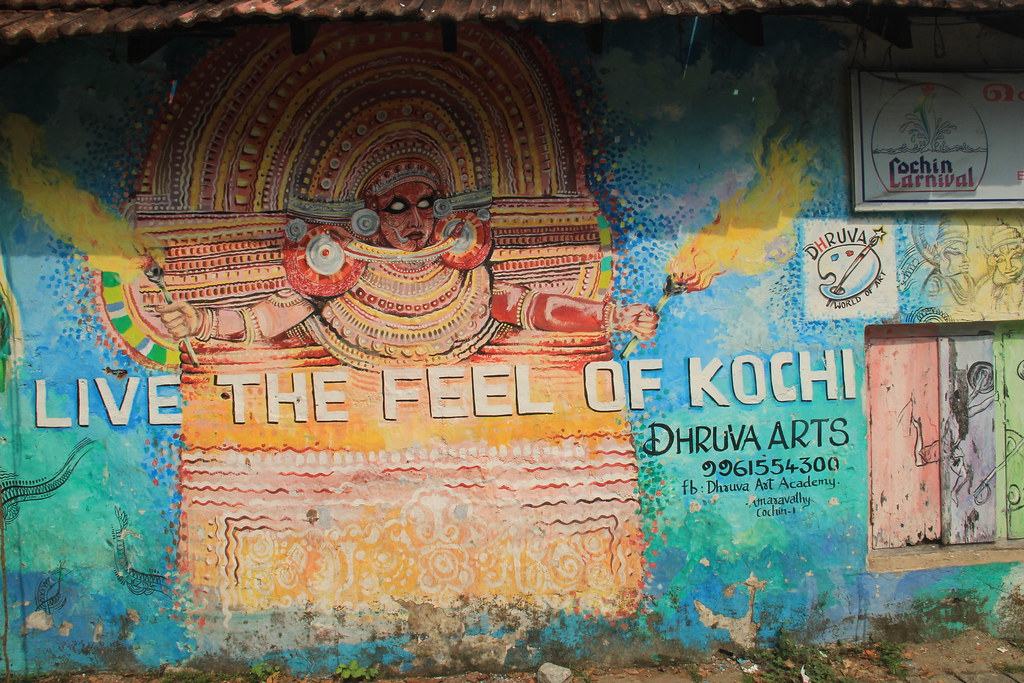 Street art, Fort Cochin
