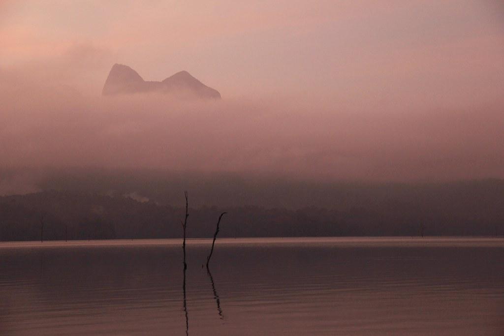 Sunrise, Cheow Lan Lake