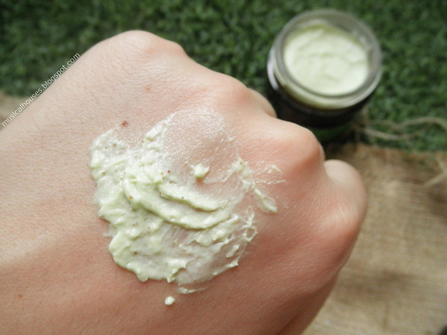 The Body Shop - Masque de purification de la pollution au thé japonais Matcha Review - Swatch