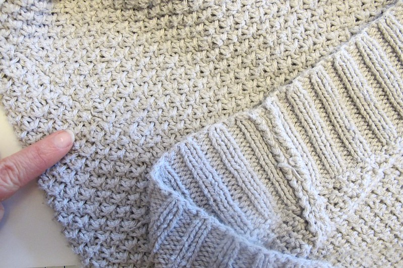 Martine Sweater- seaming!