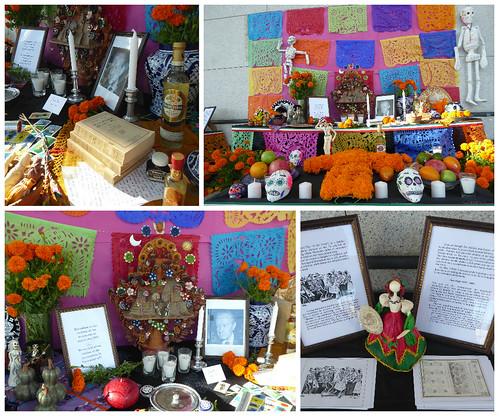Inauguración del Altar de Muertos en el atrio de edificio la Embajada de México en Tel Aviv