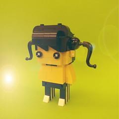 #lego #brickheadz  #legomocs #mocs #レゴ #primaryschool  #littlegirl