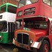 Crossville Cymru Bristol VRT and AEC Regent V @North West Museum of Road Transport