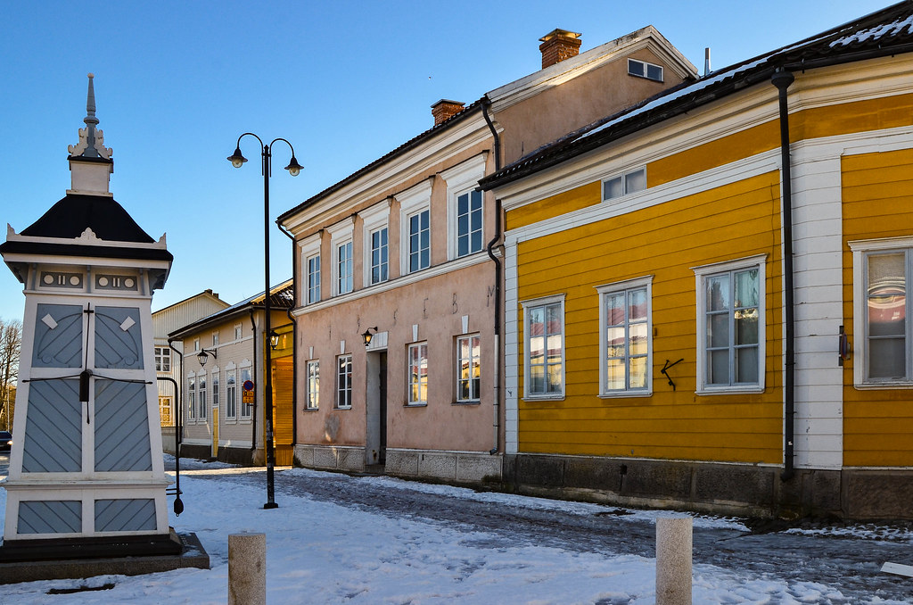 Points of interest in Old Rauma: Hauenguano