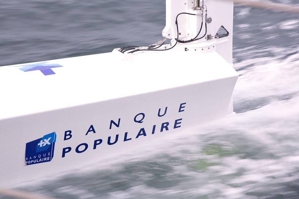 1ère navigation - Maxi Banque Populaire IX
