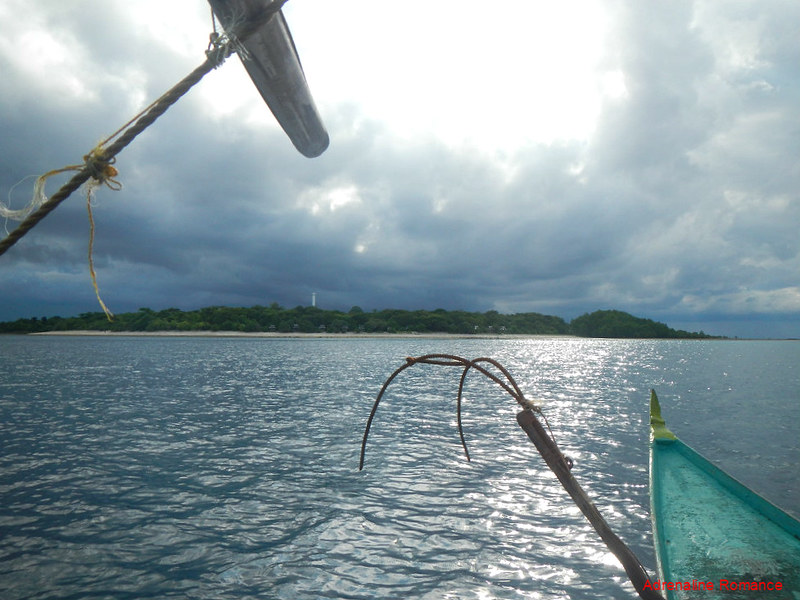 Approaching Nogas Island
