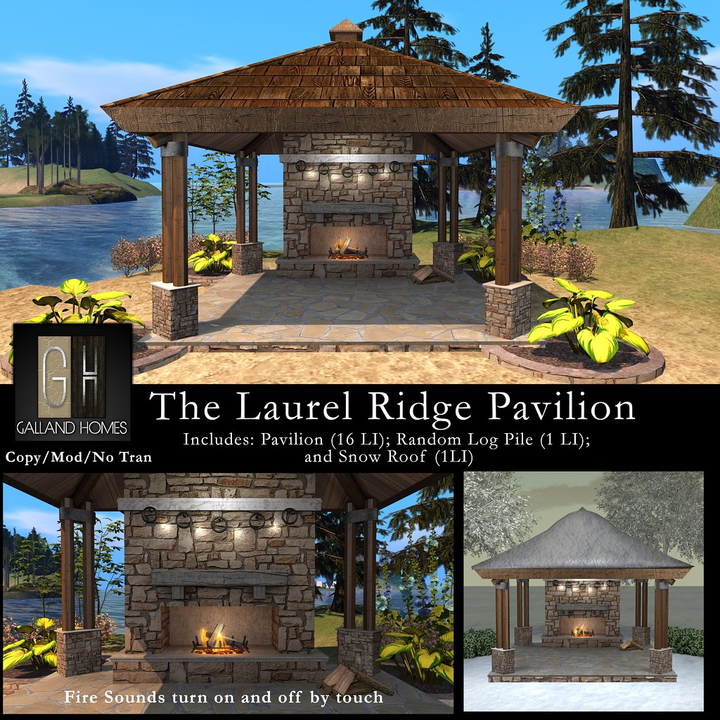 Laurel Ridge Pavilion by Galland Homes - TeleportHub.com Live!