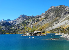 A Hint of Autumn, Sabrina Lake, Sierra Nevada 10-17