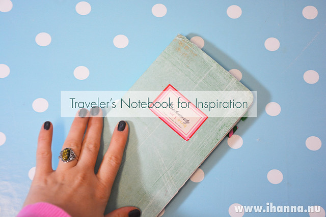 Traveler's Notebook Inspiration on iHanna's Blog