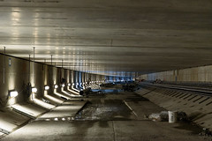 The basement of the SR 99 tunnel