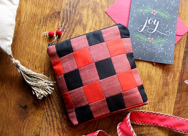 Handmade Buffalo Check Bags
