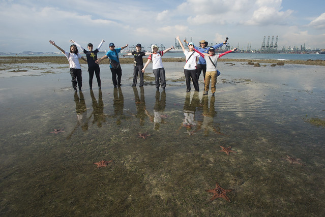 IYOR interns on Cyrene Reef