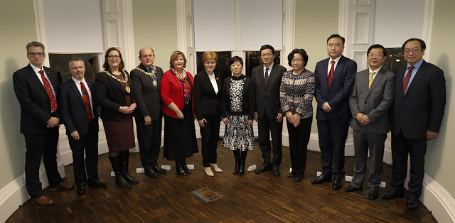 Celebration of UK China Regional collaboration