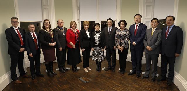 Celebration of UK China Regional collaboration