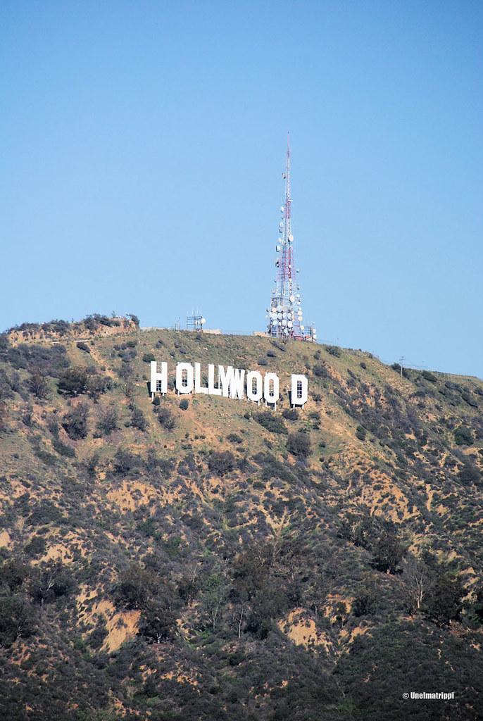 Hollywood-kyltti, Los Angeles, Kalifornia, USA