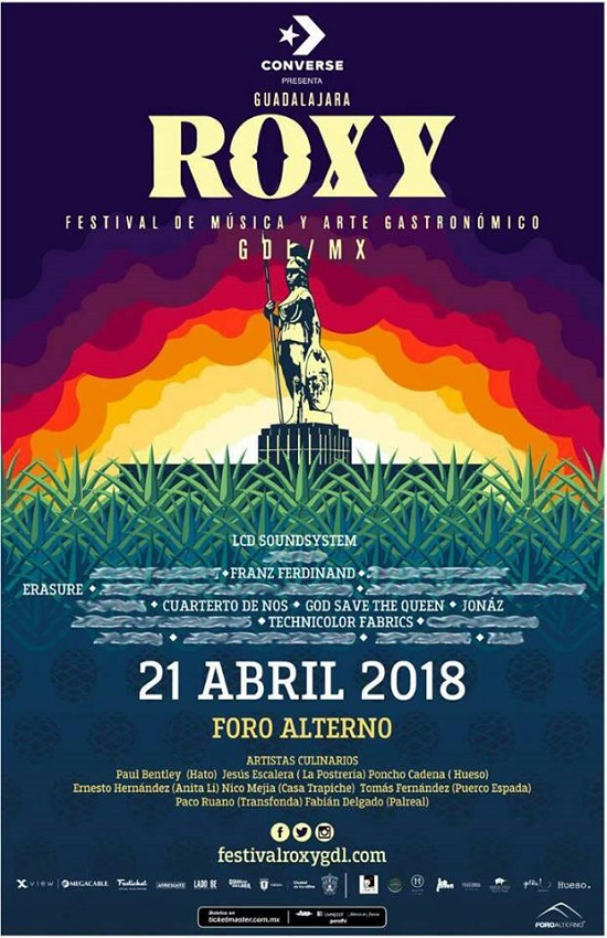 FESTIVAL ROXY – 21 de abril. Foro Alterno