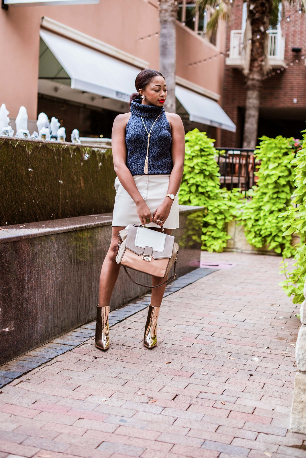 dallas fashion blogger, candace Hampton