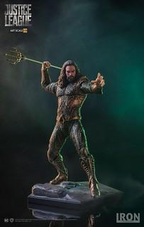 我就是那個隨身帶把叉的高調男!!Iron Studios《正義聯盟》水行俠 Justice League Aquaman 1/10 比例全身雕像作品