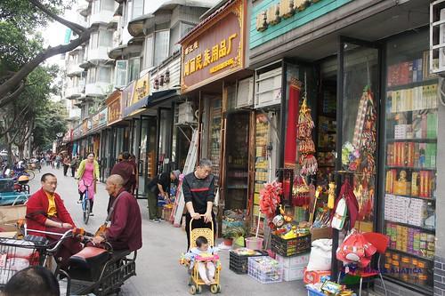 Barrio tibetano de chengdu 87