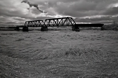 DAR bridge over the Gaspereau River