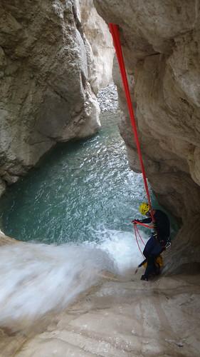 Krujë canyon