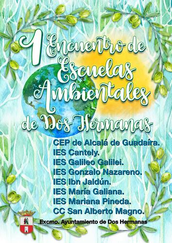 Cartel del 1º Encuentro de Escuelas Ambientales