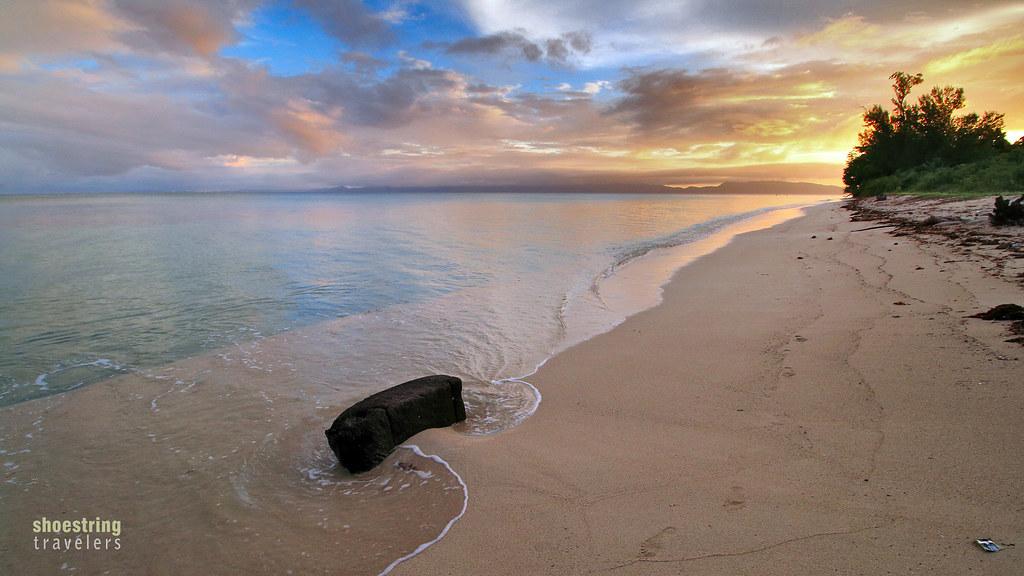 nearing sunset at Cagbalete Island's southeastern side