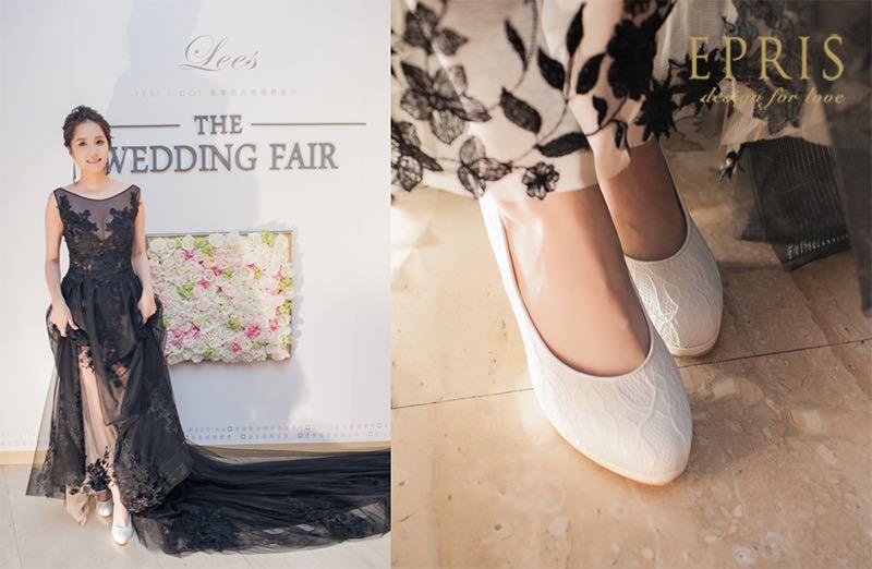結婚採購節,低跟婚鞋,婚鞋品牌推薦,婚宴穿搭女,手工婚鞋,晚宴鞋,艾佩絲EPRIS婚鞋