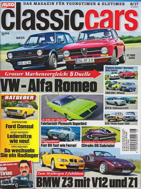 Auto Zeitung - Classic Cars 8/2017
