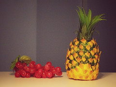 Pineapple, Grapes