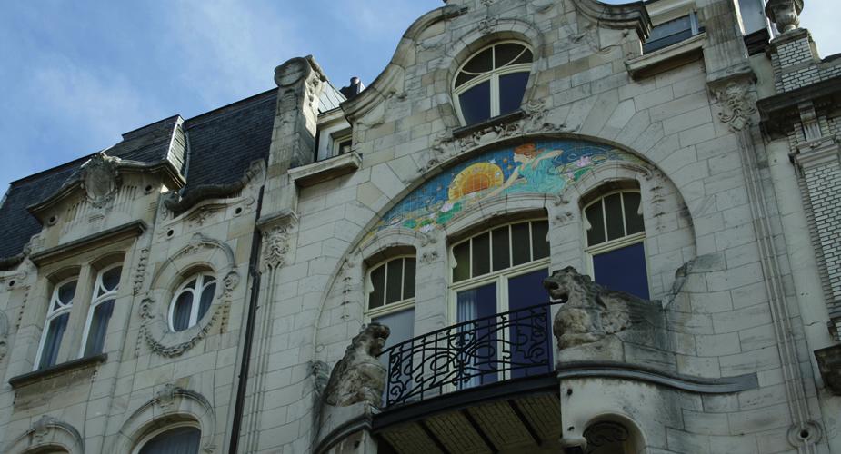 Antwerpen Zurenborg Transvaalstraat | Mooistestedentrips.nl