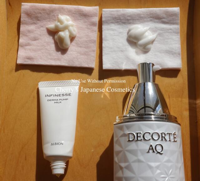 Albion Infinesse Derma Cosme Decorte AQ Milk ER