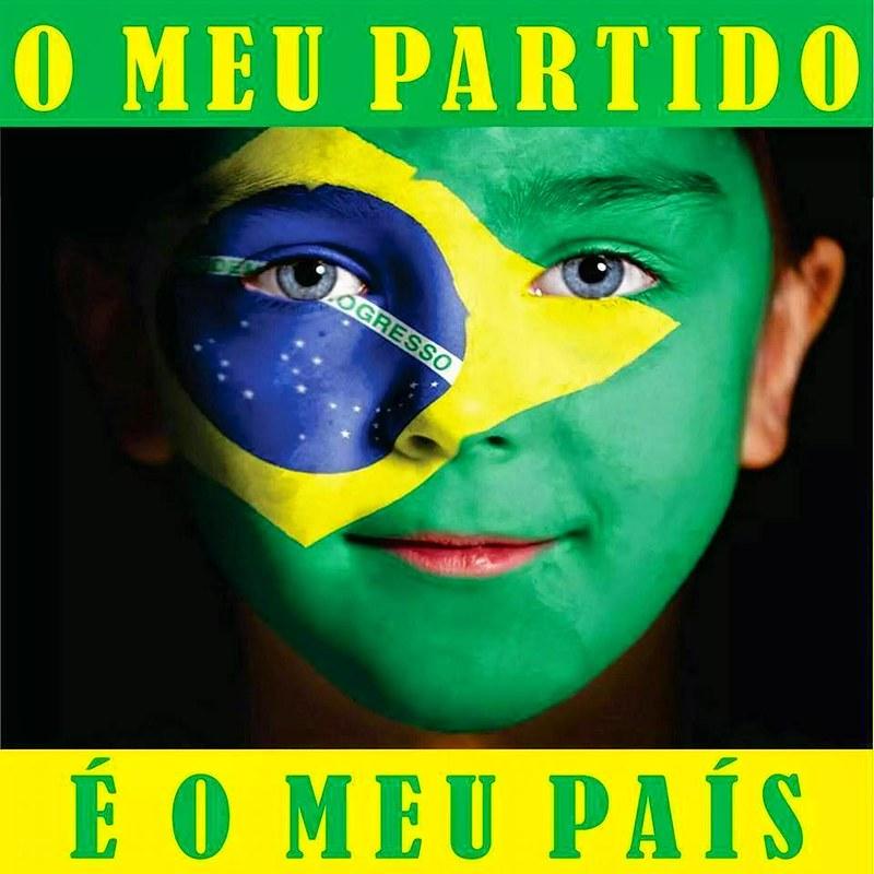 Resultado de imagem para meu partido é o brasil