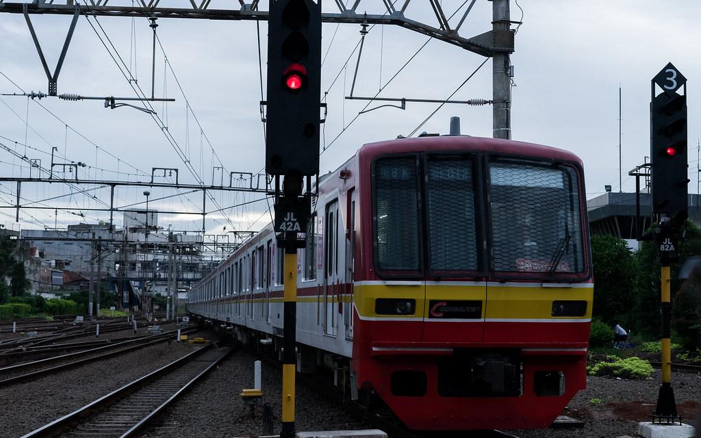 Tokyo Metro 05 ( 05-012);Yellow Line;Stasiun Jatinegara