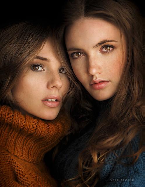 Anna and Nadya