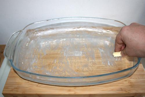52 - Auflaufform ausfetten / Grease casserole