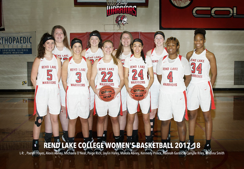 2017-18 Rend Lake College Women's Basketball