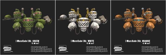 {-Maru Kado-} Robot