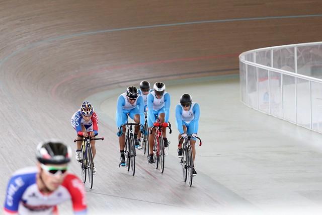 Día 1 ciclismo de pista, Juegos Bolivarianos 2017