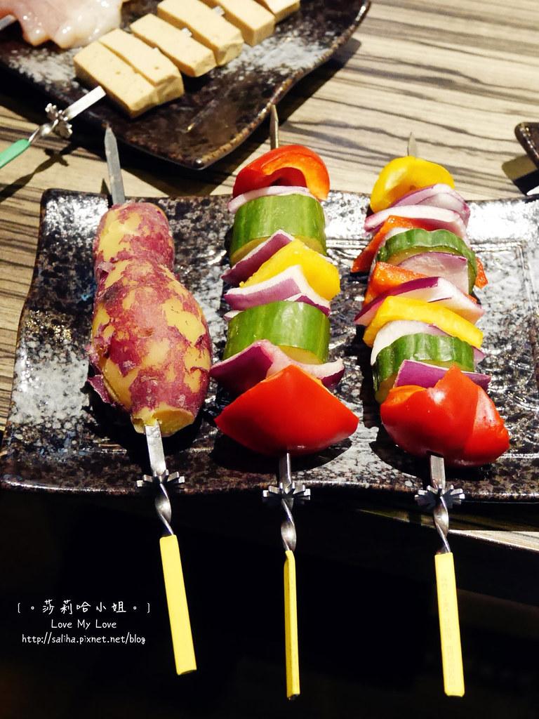 台北東區國父紀念館站談天自助燒烤串燒 (9)