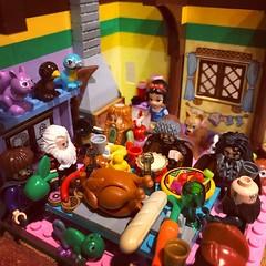 Happy Thanksgiving #snowwhiteandthesevendwarfs #legosnowwhite
