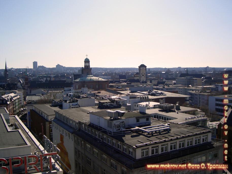 Города Франкфурт на Майне фотозарисовки
