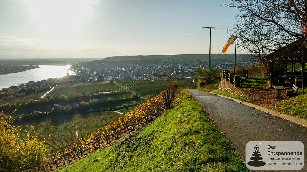 Fockenberghütte bei Nierstein am Rhein